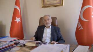 Milli Görüş hareketinin liderlerinden Oğuzhan Asiltürk