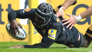 Christian Wade has scored 10 tries in his last three appearances for Wasps against Worcester
