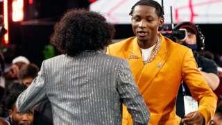 Jonathan Kuminga abaye umukinnyi wa gatandatu uvuka muri DR Congo winjiye muri shampiyona ya basketball ya NBA