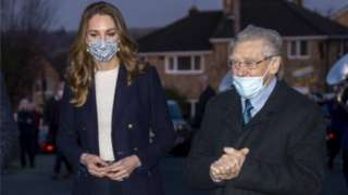 Kate Middleton and Len Gardner