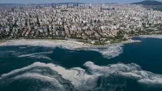 Deniz salyası Marmara'nın pek çok kentinde görülüyor