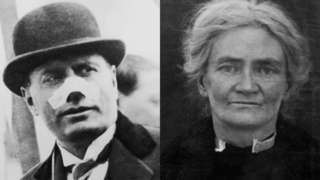 Benito Mussolini and Violet Gibson