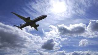 Літак в небі