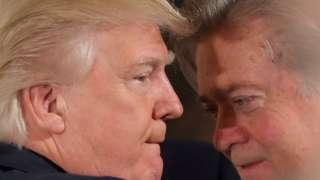 Трамп и Бэннон