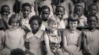 Gaynor in her school photo