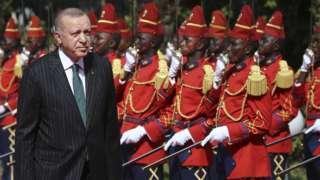 Cumhurbaşkanı Erdoğan, 28 Ocak'ta Senegal'e gitti.