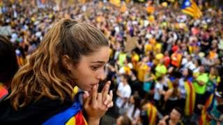 протест у каталонији