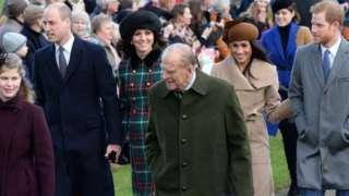 Prince Philip at Sandringham