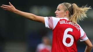 Arsenal's Leah Williamson