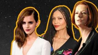 Emma Watson, Thandiwe Newton and Julia Gillard