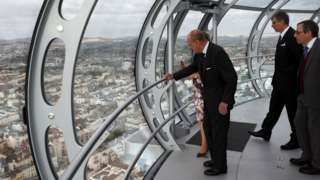 Duke of Edinburgh in the i360