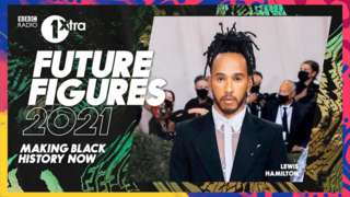 Lewis Hamilton is one of BBC 1Extra's 'Future Figures' series - celebrating Black History Month