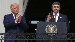 BAE ve İsrail arasındaki anlaşma, 15 Eylül'de Trump liderliğinde Beyaz Saray'da imzalanmıştı