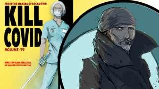 "Comic book artist portrays ""real-life"" NHS superheroes"