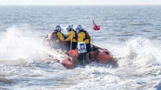 West Kirby RNLI inshore lifeboat