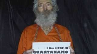 Image of Robert Levinson sent to his family in 2011