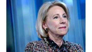 US Education Secretary Betsey Devos