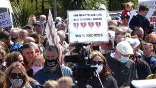 Buncrana protest