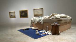 Tracey Emin's My Bed @Turner Contemporary