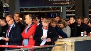 Paddington delays