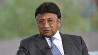 Pervez Musharraf on the BBC's Andrew Marr Show in October 2010