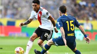River Plate's Enzo Perez