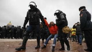 Затримання у Москві