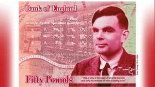 Alan Turning banknot konsepti