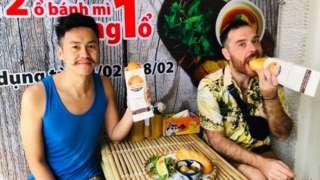 O vietnamita Yann Dupierre e o argentino Adrian Polimeni
