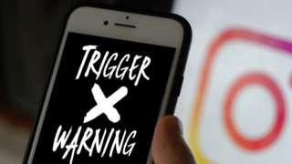 Instagram and trigger warning