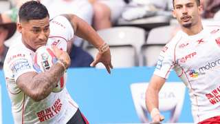 Junior Vaivai scored two tries after shrugging off an injury at Magic Weekend just five days earlier