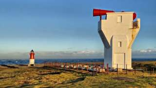 Point of Ayre foghorn