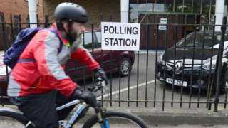 Belfast pollng station