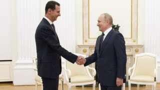 Esad ve Putin Moskova'da, 13 Eylül 2021