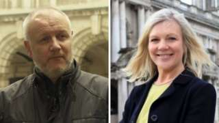 Nigel Grimshaw and Suzanne Wylie