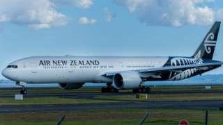 An Air New Zealand charter
