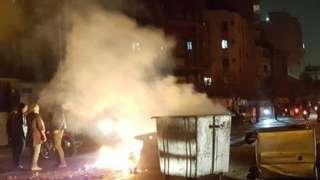 ضربت موجة من الاحتجاجات إيران في نوفمبر/ تشرين الثاني الماضي (أرشيف)