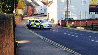 Police seal off part of Great Dunmow