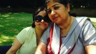 Kashmir, 64, and her eldest daughter Paramjeet