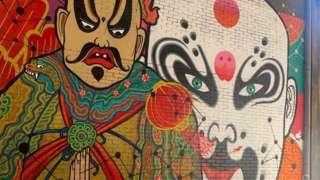 Artwork in Chinatown