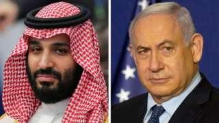 نتنياهو وولي العهد السعودي