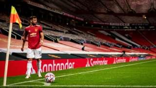 Bruno Fernandes at Old Trafford