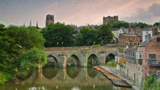 View of River Wear through Durham