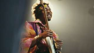 Jimi Hendrix was famous for his distorted guitar sound