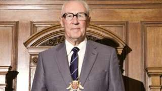 John Powley, pictured when he was chairman of Cambridgeshire County Council
