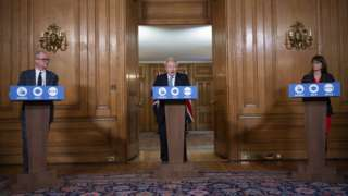 Downing Street press conference on 16 October 2020