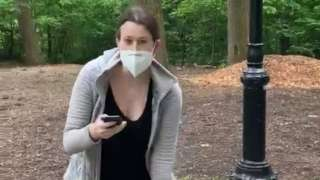 Christian Cooper filmed Amy Cooper after she refused to stop her dog running through woodland