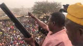 Yoruba activist Sunday Igboho
