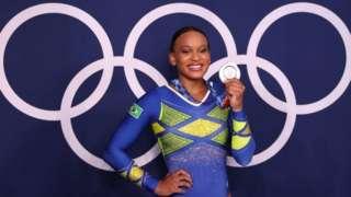 Rebeca Andrade foi prata em Tóquio 2021
