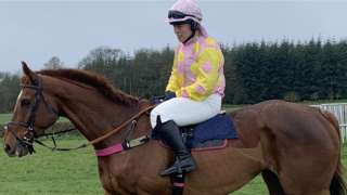 Kerry Lee is in her fourth season since taking over the trainer's licence at her Herefordshire yard from father Richard